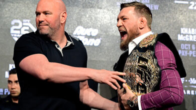 Photo of Dana White responds to Conor McGregor's leaked DMs: 'It's one of the dirtiest things you can do'