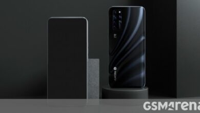 Photo of Take a look at the official ZTE Axon 20 5G render