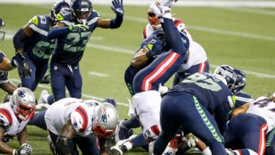 Photo of Cam Newton defends Patriots' call on final play in loss to Seahawks