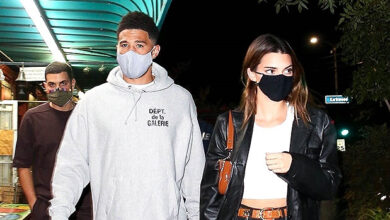 Photo of Kendall Jenner & BF Devin Booker Hold Hands On Romantic Dinner Date In L.A. — See Pics