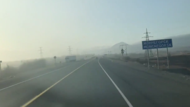Photo of Another smoggy Sunday in the town with factories owned by Russia's richest man