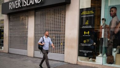 Photo of River Island to cut 350 staff and may close branches