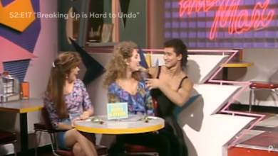 Photo of 'Saved By the Bell' stars flip out as they re-watch scenes from the classic series