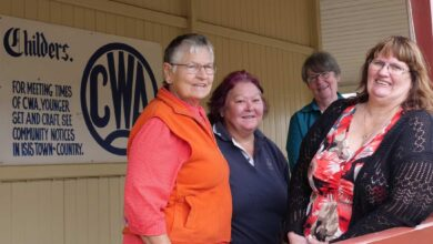 Photo of QCWA branch at risk of shutting down due to member drought