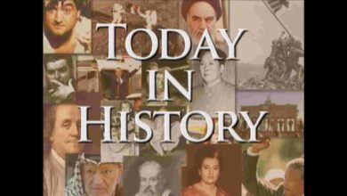 Photo of Today in History for October 8th