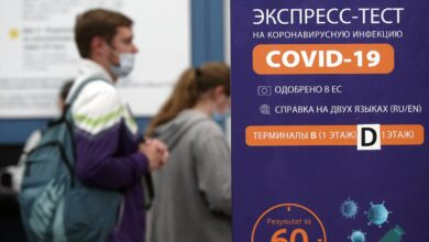 Photo of Record 500,000 COVID-19 tests conducted in Russia in 24 hours