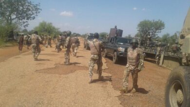 Photo of Fire For Fire! Nigerian Troops Shoot Bombs At Boko Haram, Kill Scores Of Terrorists In Borno (Video)
