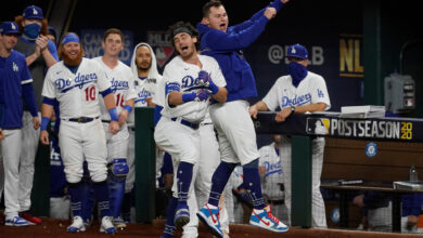 Photo of Dodgers reach World Series after completing comeback against Braves