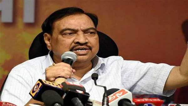 Eknath Khadse quits BJP, to join NCP on Friday