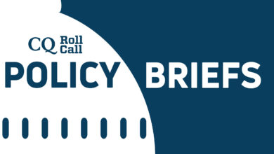 Photo of CQ Roll Call Policy Briefs