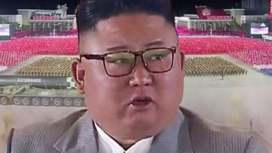 Photo of North Korea's parade weapons 'were fake' as Kim showcases new 'doomsday missile'