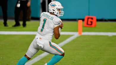 Photo of Miami Dolphins' starting QBs since Dan Marino retired