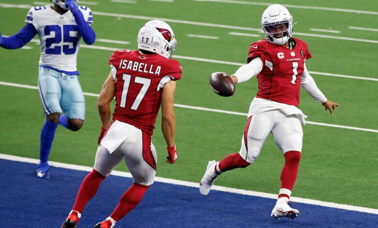 Kyler Murray, Arizona Cardinals leave their mark on Dallas Cowboys in rout