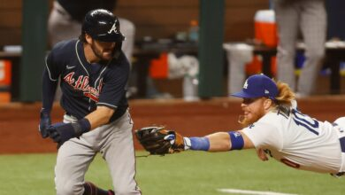 Photo of Braves cost themselves a huge inning with baserunning blunder vs. Dodgers