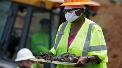 Photo of Tulsa Resumes Excavation at Cemetery for Victims of 1921 Race Massacre