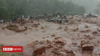 Photo of India landslide: Dozens feared dead after flooding in Kerala