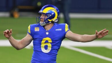 Photo of Rams punter Johnny Hekker was the real MVP in win over Bears