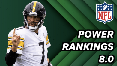 Photo of NFL power rankings 8.0: Steelers rise to No. 1 spot