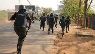 Photo of Ondo 2020: Police disperse hoodlums at collation centre