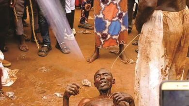Photo of VIDEOS: Inside Niger's miracle centre where 'witches' are stripped naked