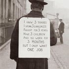 Photo of Searching for work in the 1930s