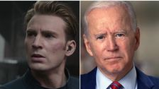 Photo of Election Footage Of Joe Biden Set To Captain America Speech Goes Viral