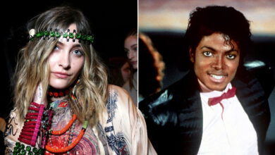 Photo of Paris Jackson follows in late father Michael's footsteps and releases debut single Let Down