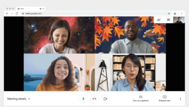 Photo of Google Meet starts rolling out custom background images on the web