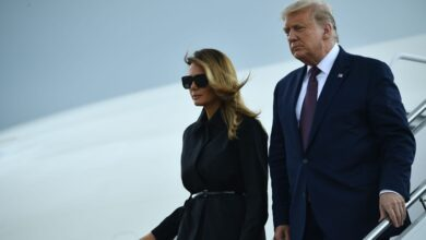 Photo of President Donald Trump and first lady Melania Trump test positive for Covid-19