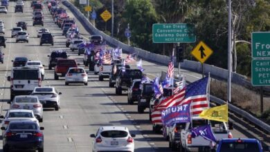 Photo of Trump trains' and 'MAGA drags' snarl traffic, raise tensions in multiple states…