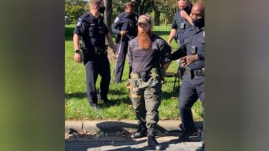 Photo of Armed man arrested at Charlotte polling site after being banned