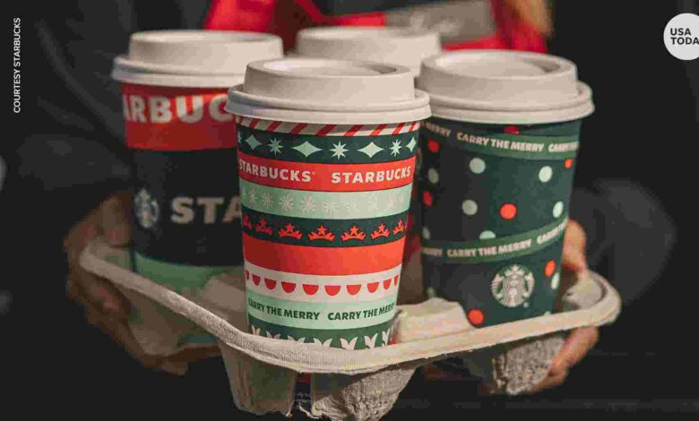 Starbucks' red cups, holiday drinks return to get you in the holiday spirit