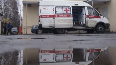 Photo of Russia's Covid Surge Exacts a Heavy Toll on Its Emergency Responders
