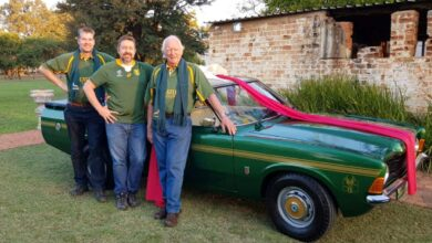 Photo of Proudly South African: Ford Cortina 'bokkie bakkie' scores a heritage try