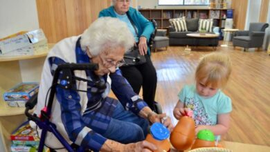 Photo of Real-life aged-care home for four-year-olds an intergenerational winner, say experts