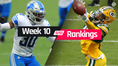 Photo of Week 10 Fantasy Defense Rankings: Sleepers, busts, waiver-wire D/ST streamers to target