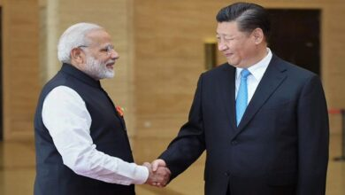 Photo of PM Modi-Xi face off for first time amidst Indo-China border standoff today