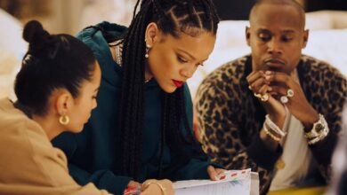 Photo of Rihanna releases new collection with part-Jordanian designer Amina Muaddi
