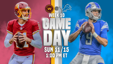 Photo of Washington vs. Detroit Lions live stream, how to watch, NFL football predictions, odds, tv channel, start time