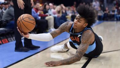 Photo of Cleveland Cavaliers rookie Kevin Porter Jr. arrested on firearms charge