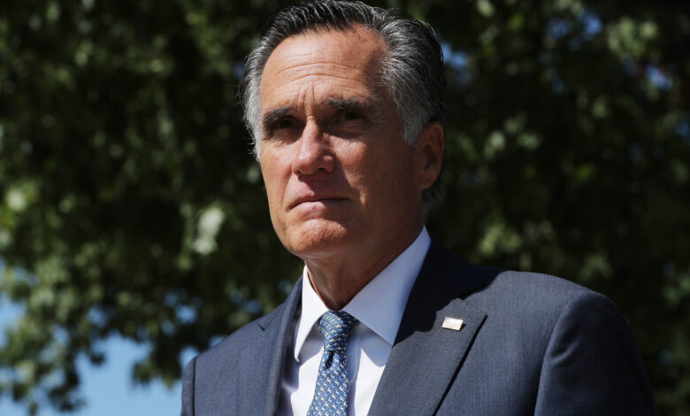 Election GOP Sens. Romney and Sasse Condemn Trump's Election Challenges, 'We Are a Nation of Laws, Not Tweets'