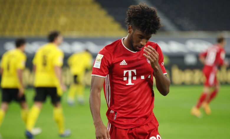 Bayern Munich Winger Kingsley Coman Suffers Ankle Injury in Training