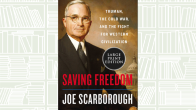 Photo of What We Are Reading Today: Saving Freedom by Joe Scarborough