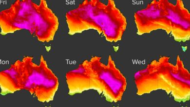 Photo of Severe heatwave to sweep Australia with temperatures set to soar ten degrees above average