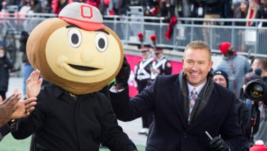 Photo of Michigan AD blasts ESPN's Kirk Herbstreit for suggesting Wolverines might try and avoid Ohio State