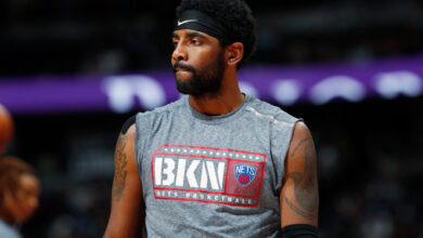 Photo of Kyrie Irving issued a statement instead of speaking to the Nets media