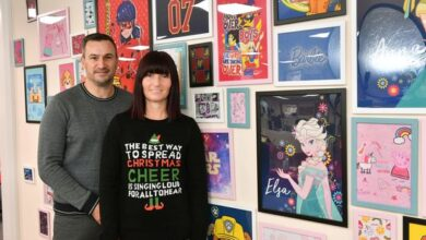 Photo of Couple started multi-million pound company from their garage