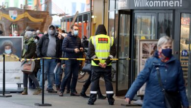 Photo of Austrian shops open after 3 weeks as lockdown loosened