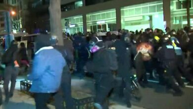Photo of Multiple arrested, hospitalized following clashes after pro-Trump rally