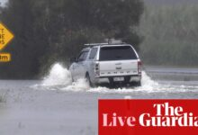 Photo of Australia news live: NSW and Qld face another day of wild weather; Tony Mokbel drug conviction quashed